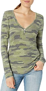 Women's Camo Thermal Top