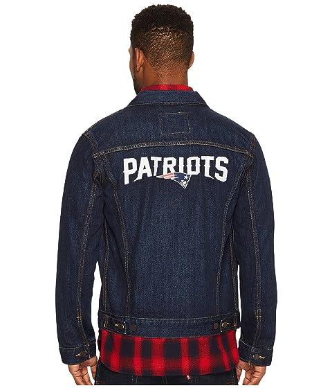 Mens Denim Sports Blue Trucker Levi's® Patriots xZYqSwwv