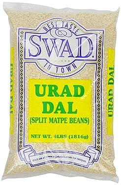 Swad Urad Dal Matpe Beans, Split, 4 Pound