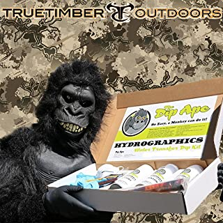 Dip Ape True Timber Western Viper Hydrographic Water Transfer Hydro Dip Dipping Kit