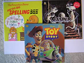 Classic set of 3 books, The Berenstain Bears and the Big Spelling Bee, Golden Book Casper and Toy Story
