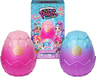 Hatchimals Pixies, Mermaids 2-Pack Collectible Dolls & Accessories (Styles May Vary), Girl Toys for Ages 5 and up