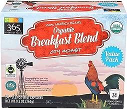 365 Everyday Value, Organic Breakfast Blend Coffee Capsules, 24 ct