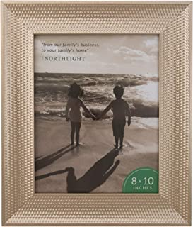 Northlight Champagne Gold Honeycomb Picture Frame- 8
