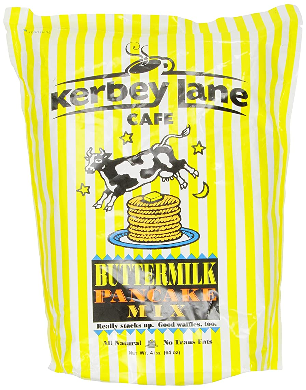 Kerbey Lane Cafe Pancake Mix, Buttermilk, 4 Pound