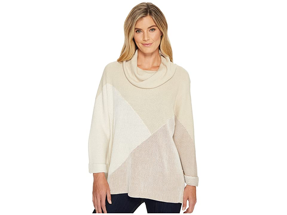 NIC+ZOE Linear Cozy Top (Multi) Women