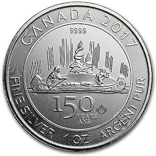 canadian five dollar coin 2017