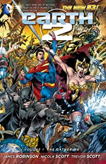 Earth 2 Vol. 1: The Gathering (The New 52) (Earth 2 Series)