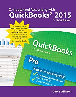 Computerized Accounting with QuickBooks 2015, 2017-2018 Update