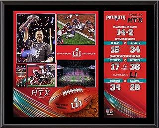 New England Patriots 12'' x 15'' Super Bowl LI Champions Sublimated Plaque - NFL Team Plaques and Collages