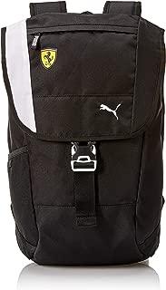 Men's Standard Scuderia Ferrari Fanwear Backpack, black, One Size