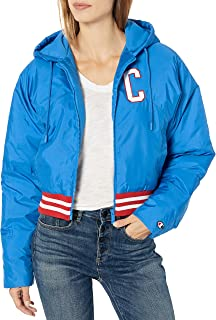 Champion Life Womens JL4397550306 Fashion Jacket with Back Block Text Jacket