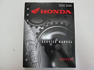 2005 2006 Honda CRF450X Service Repair Shop Manual MINOR WEAR FACTORY OEM DEAL