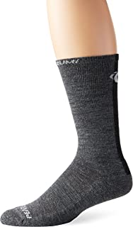 PEARL iZUMi ELITE Thermal Wool Sock, Shadow Grey, Small