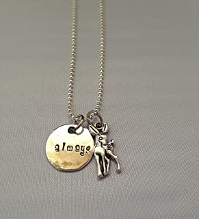 After All this time? Always. Harry Potter Inspired Snape Lily Doe Necklace