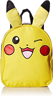 "Pokemon ""Pikachu Mini Backpack, 10"", Yellow"