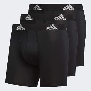 adidas Men's Climalite Boxer Briefs Underwear (3-Pack)
