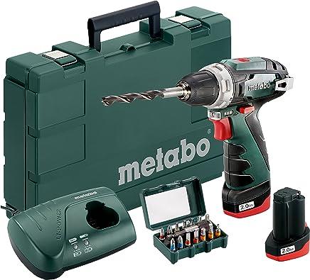Metabo 600785500/SBEV 1300-2/- Taladro giro a derecha e izquierda velocidad 0-3100 rpm mandril de fijaci/ón r/ápida,1300/W//44/Nm
