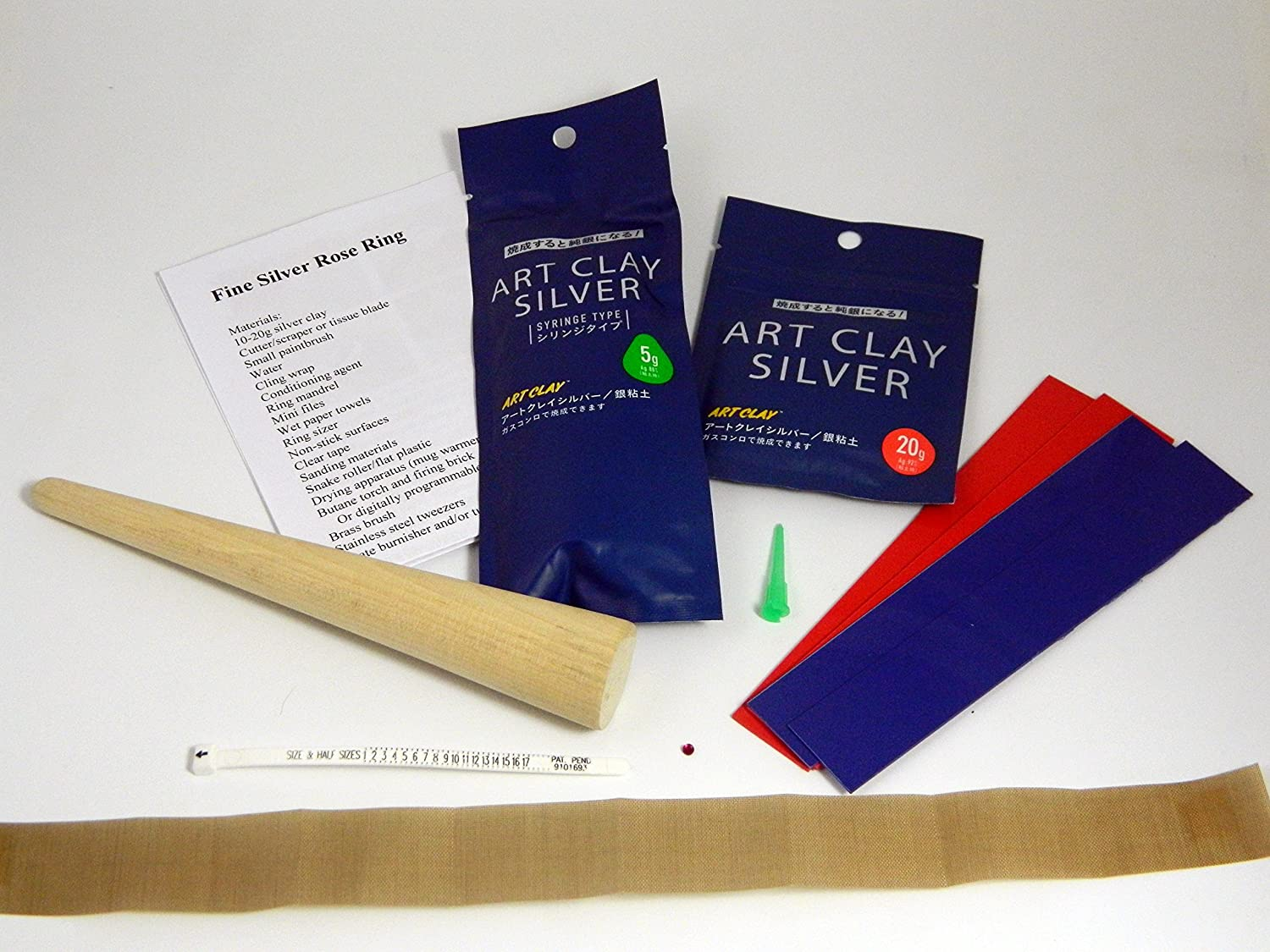 Art Clay Silver Rings Kit Challenge the lowest price of NEW before selling Japan