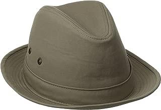 Men's Fedora Linen Hat