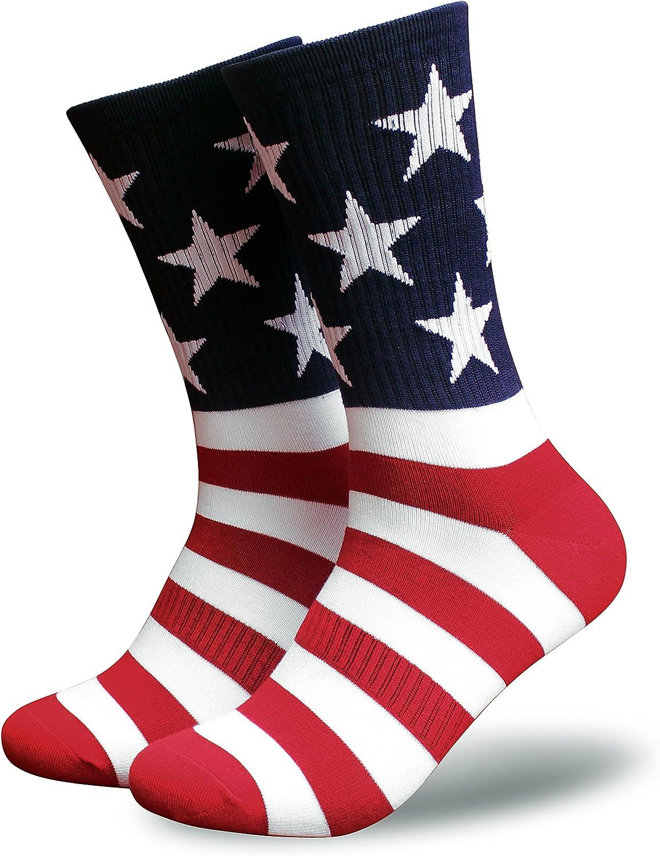 American Flag Socks for shop Men or Women High Financial sales sale USA Freedom Patriotic
