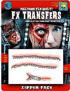Tinsley Transfers Zipper Face