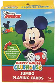 Disney Junior Mickey Mouse Clubhouse Jumbo Playing Cards