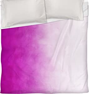 Manual Woodworkers & Weavers Duvet Cover, Twin, Pink Ombre