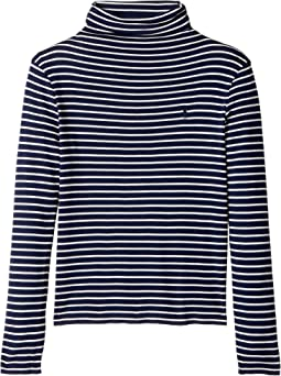 Polo Ralph Lauren Kids - Striped Turtleneck Shirt (Little Kids/Big Kids)