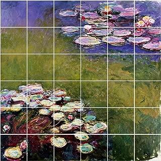 Bilderwelten Adesivo per Piastrelle S.-Merse Dimensione Piastrelle 10x10cm Dimensione 60x60cm