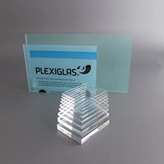 8 mm, 800 x 400 mm Acrylglas Zuschnitt Plexiglas Zuschnitt 2-8mm Platte//Scheibe klar//transparent