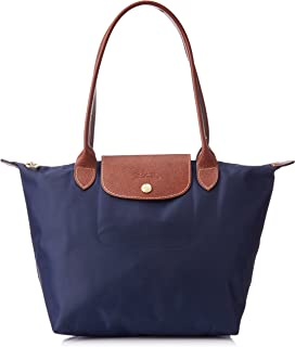 Le Pliage Tote Shoulder Bag, Navy Blue, Medium