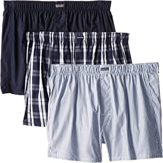 Calvin Klein Men's Cotton Classics Multipack Woven Boxers