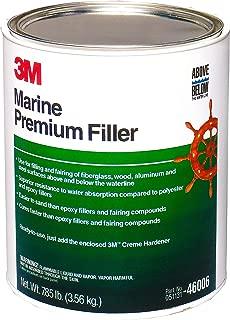 3M White 1 Gallon (128 Ounces) 46006 Marine Premium Filler-Gallon