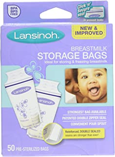Lansinoh Laboratories Breastmilk Storage Bags, 3 Count