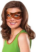 Rubie's Costume Co Women's Teenage Mutant Ninja Turtles Classic Michelangelo Eye Mask, Orange, One Size