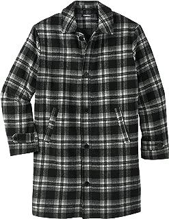 KingSize Men's Big & Tall Tall Wool Dress Coat