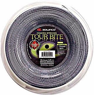 Solinco Tour Bite Diamond Rough Tennis String Reel Silver