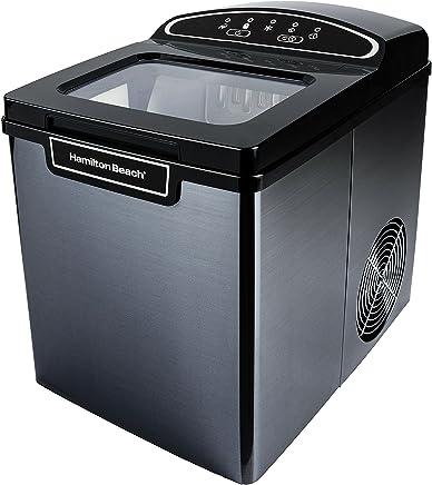 Hamilton Beach PIM-2-3A Portable Ice Maker, 26 lb. Capacity, Black Stainless Steel