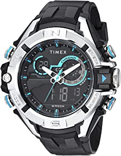 Timex Men's Guard DGTL Bold Combo Resin Strap Watch