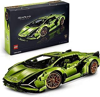 LEGO 42115 Technic Lamborghini Sián FKP 37, Geavanceerde Raceauto Bouwset, Exclusief Verzamel en Displaymodel voor Volwass...