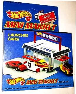 Hot Wheels Mini Market Sto & Go Set - Getty Gas exclusive 1987 Mattel
