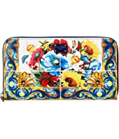Dolce & Gabbana - St. Dauphine Zip Around Wallet