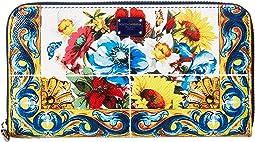 Dolce & Gabbana - St. Dauphine Zip Around Wallet