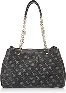 GUESS Womens Lorenna Satchel Bag