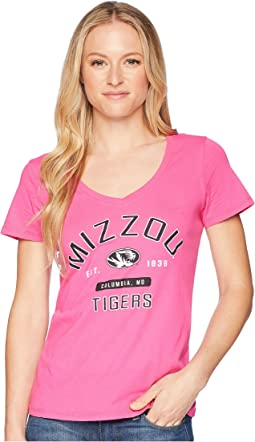 Missouri Tigers University V-Neck Tee