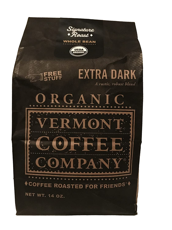 Amazon Com Vermont Coffee Company Organic Whole Bean Dark Roast Decaf Coffee 16 Oz Bag Grocery Gourmet Food