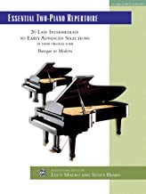advanced piano repertoire
