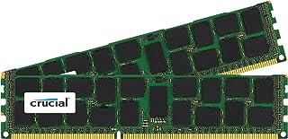 Crucial 32GB Kit (16GBx2) DDR3L 1333 MT/s (PC3-10600) DR x4 RDIMM 240-Pin Server Memory CT2K16G3ERSLD41339