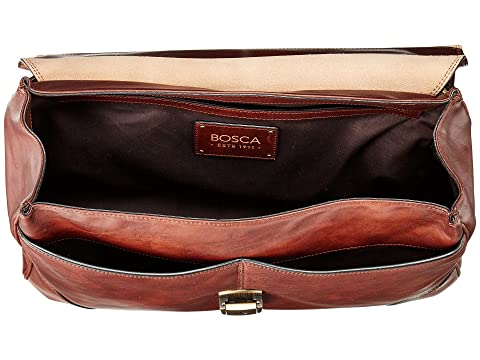 Colección Bosca Flapover Brown Dolce Dark Brief FFqBwr